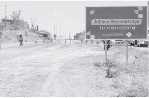Villa Guerrero pide extremar cuidados por  obra carretera
